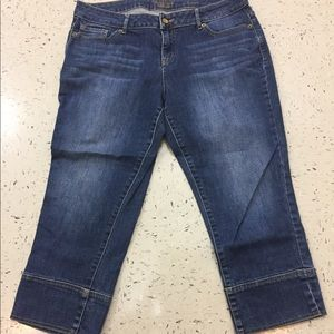 Women's ankle jeans by Vera Wang. Size 12
